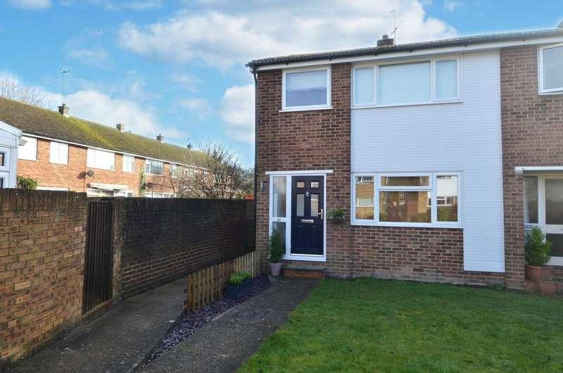 3 Bedrooms End Of Terrace House for sale in Du Pre Walk, Wooburn Green, HP10