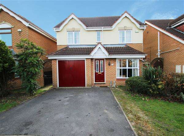 4 Bedrooms Detached House for sale in Buttercup Close, Upton