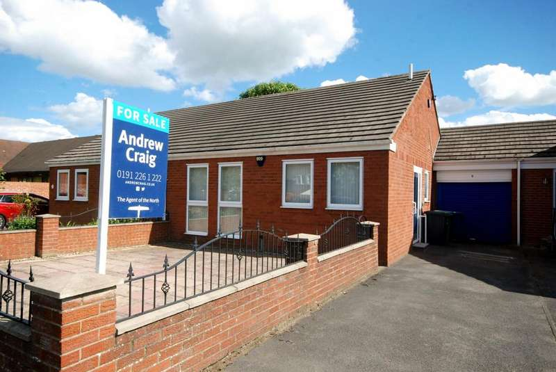 2 Bedrooms Bungalow for sale in Mayfield Gardens, Jarrow
