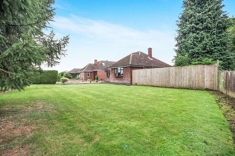 2 Bedrooms Detached Bungalow for sale in Wood Lane, Shilton, Coventry, CV7