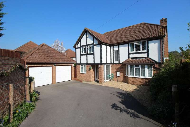 4 Bedrooms Detached House for sale in Kingfisher Copse, Locks Heath