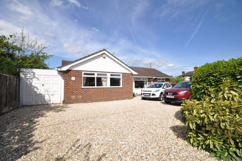 3 Bedrooms Detached Bungalow for sale in Moorgreen Road, West End, Southampton, Hampshire, SO30 2HG