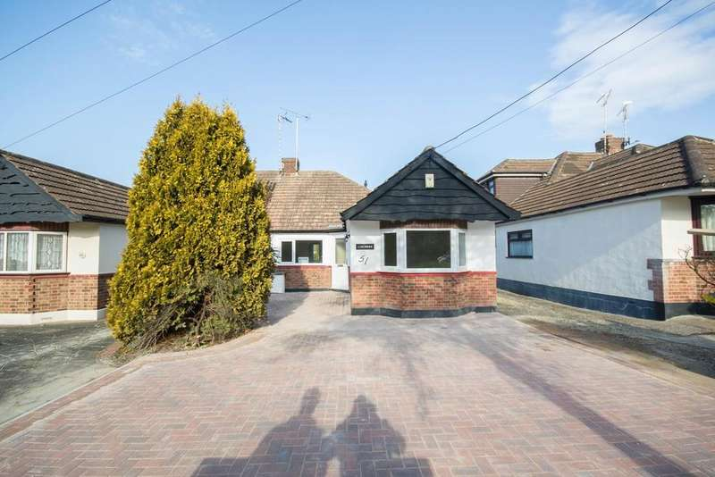 2 Bedrooms Semi Detached Bungalow for sale in Tennyson Road, Hutton, Brentwood, Essex, CM13