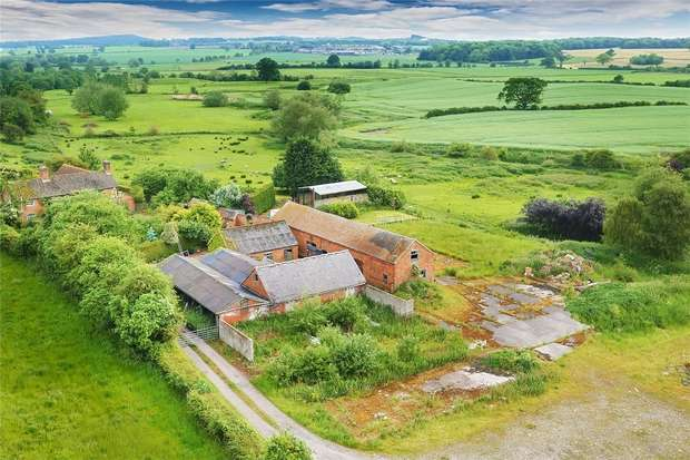 Barn Conversion Character Property for sale in Outwoods, NEWPORT, Staffordshire