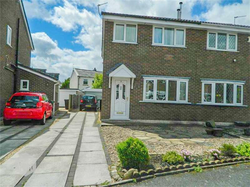 3 Bedrooms Semi Detached House for sale in Hawes Close, Bury, Lancashire