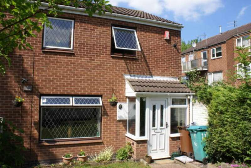 2 Bedrooms Semi Detached House for sale in Randal Gardens, Hyson Green Nottingham NG7 5GF