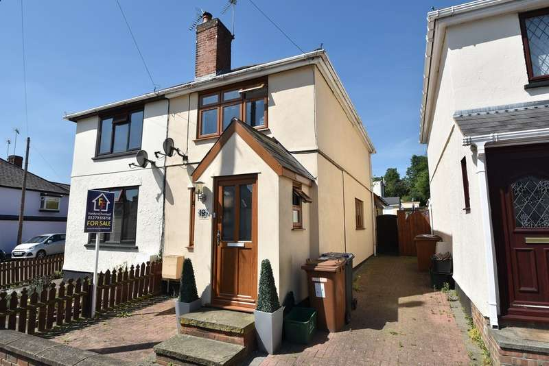 3 Bedrooms Semi Detached House for sale in Zambesi Road, Bishop's Stortford