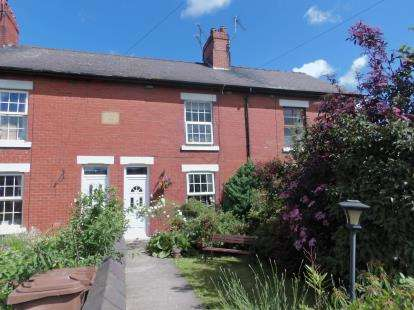 3 Bedrooms Terraced House for sale in Pottery Cottages, Mold Road, Ewloe, Deeside, CH5