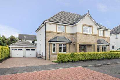 5 Bedrooms Detached House for sale in Norman Macleod Crescent, Bearsden