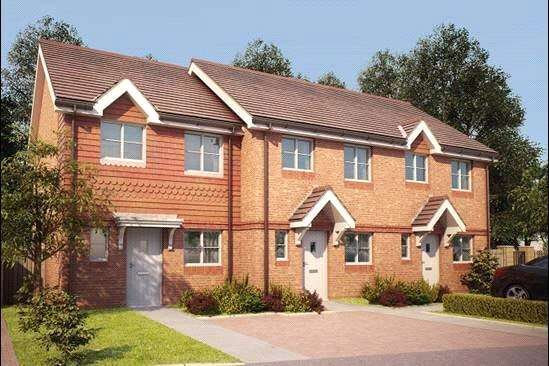 3 Bedrooms Semi Detached House for sale in The Cotterdale, Bagshot Road, Knaphill, Woking, GU212RN