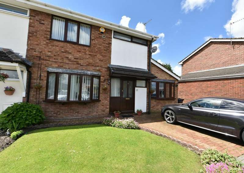 3 Bedrooms Semi Detached House for sale in Turnberry, Skelmersdale