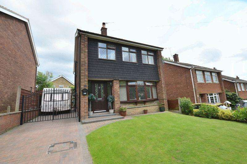 3 Bedrooms Detached House for sale in Brankwell Crescent, Scunthorpe