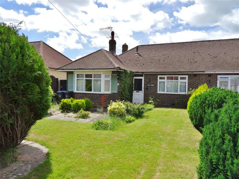 2 Bedrooms Semi Detached Bungalow for sale in Sunningdale Road, Salvington, Worthing, BN13