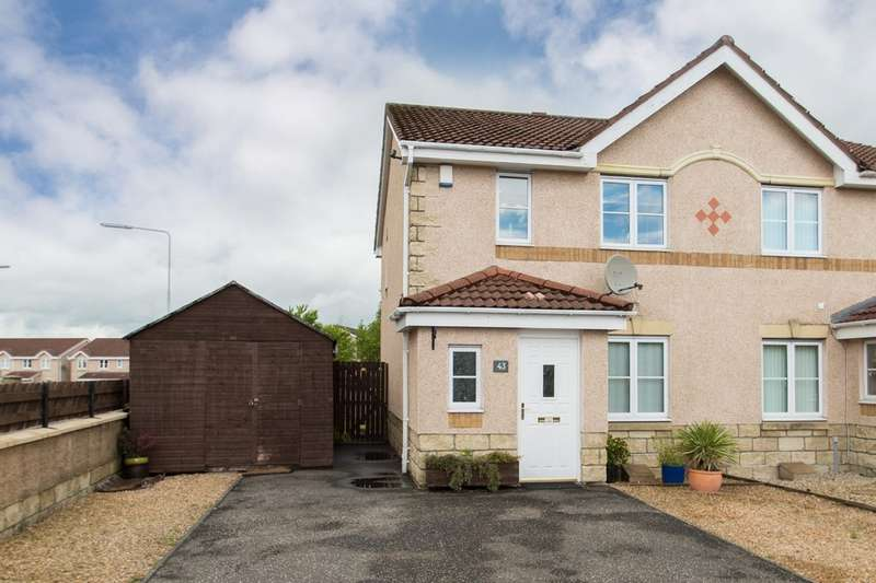 3 Bedrooms Semi Detached House for sale in Pitmedden Road , Dunfermline
