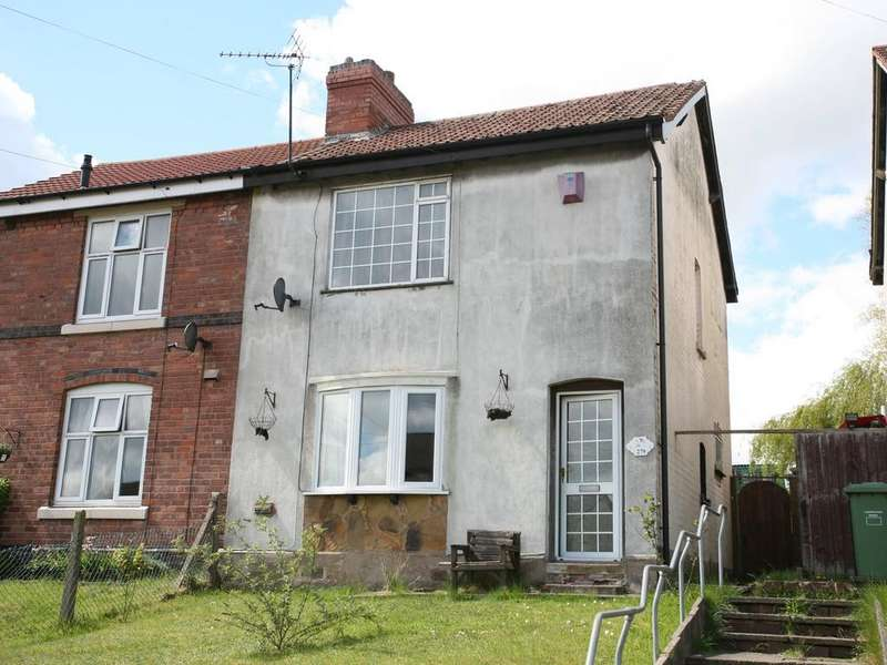 3 Bedrooms Semi Detached House for sale in 279 Stafford Road, Cannock, WS11 4AT (For Sale By Auction Monday 3rd July 2017)
