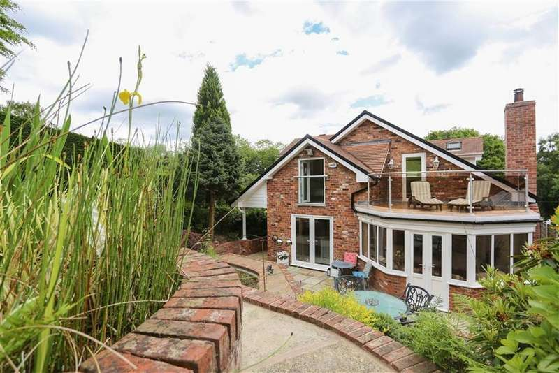 4 Bedrooms Detached House for sale in Strines Road, Marple, Cheshire