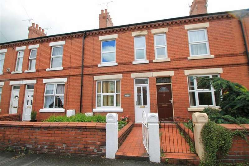 3 Bedrooms Terraced House for sale in Jubilee Road, Wrexham