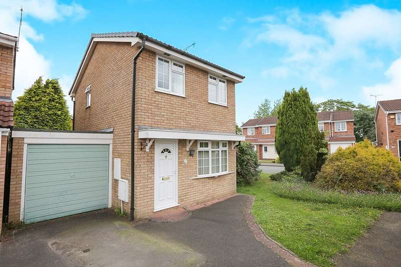 2 Bedrooms Detached House for sale in Wastwater Court, Perton, Wolverhampton, WV6