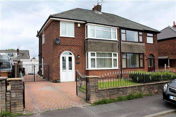 3 Bedrooms Semi Detached House for sale in Severn Drive, Walton le Dale, Preston
