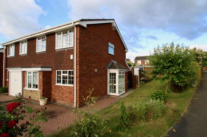 3 Bedrooms Semi Detached House for sale in Peverill Road, Perton, Wolverhampton, WV6