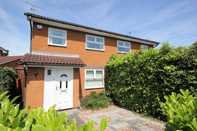 3 Bedrooms Semi Detached House for sale in Barley Crescent, Long Meadow, Worcester
