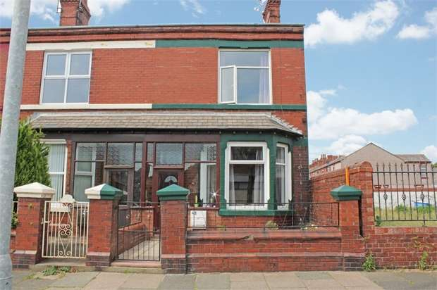 3 Bedrooms End Of Terrace House for sale in Roose Road, Barrow-in-Furness, Cumbria