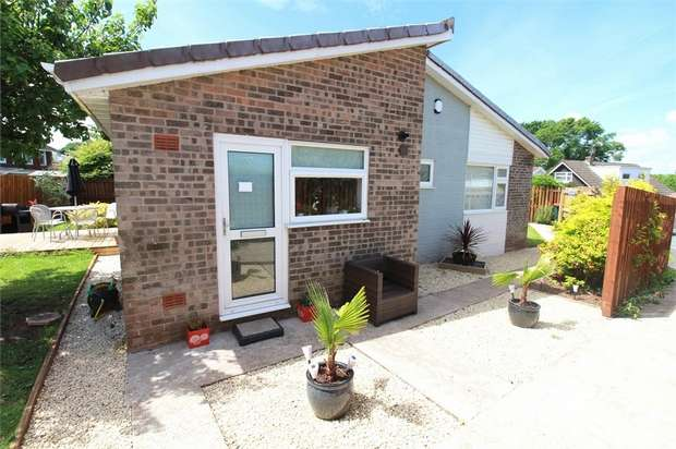2 Bedrooms Detached Bungalow for sale in Hillcrest, Caerleon, NEWPORT