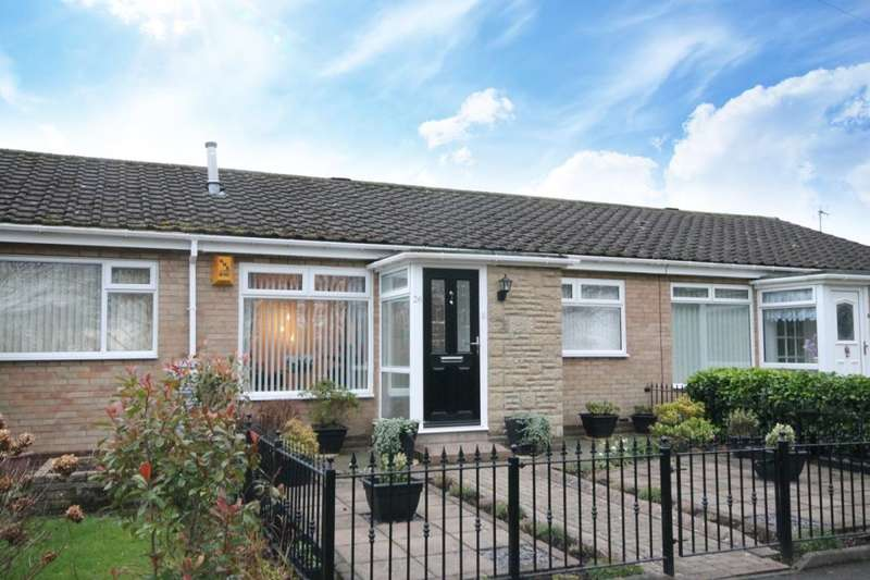 2 Bedrooms Semi Detached Bungalow for sale in Lotus Close, Chapel Park, Newcastle Upon Tyne, NE5