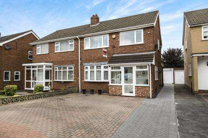 3 Bedrooms Semi Detached House for sale in Hundred Acre Road, Sutton Coldfield, West Midlands, .