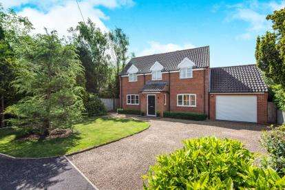 3 Bedrooms Detached House for sale in Barford, Norwich, Norfolk