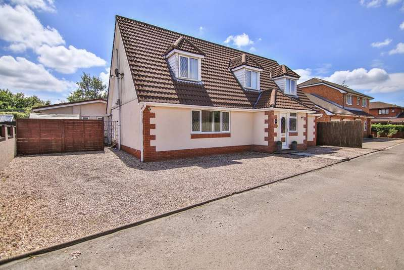 5 Bedrooms Detached House for sale in Coed Y Pandy, Bedwas, Caerphilly
