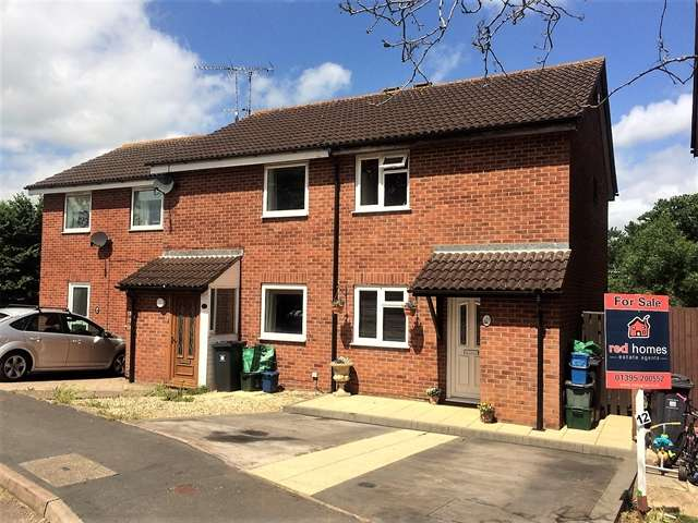 2 Bedrooms Semi Detached House for sale in Hadrians Way, Exmouth