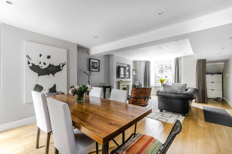 3 Bedrooms Maisonette Flat for sale in Derwent Grove, East Dulwich, SE22