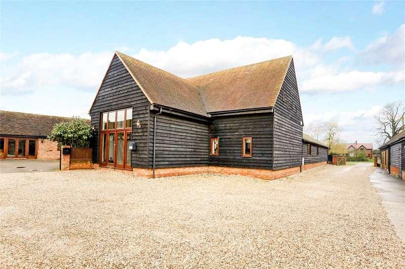 4 Bedrooms Semi Detached House for sale in Upper Manor Farm, Ilmer, Princes Risborough, Buckinghamshire, HP27