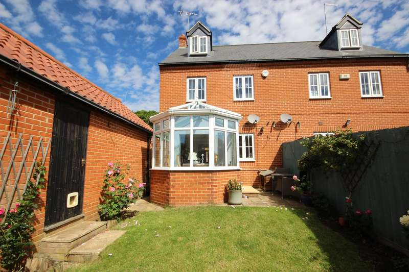 4 Bedrooms Semi Detached House for sale in Trilley Fields, Maulden, Bedford, MK45