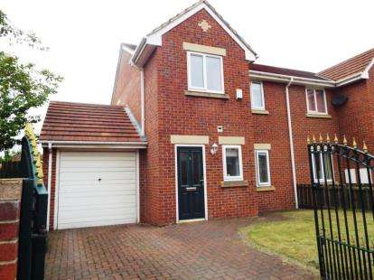 3 Bedrooms Semi Detached House for sale in Ravensworth Road, Birtley, Tyne & Wear, DH3