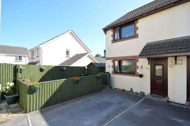 3 Bedrooms Semi Detached House for sale in Church House Close, Chudleigh Knighton, Chudleigh, Newton Abbot