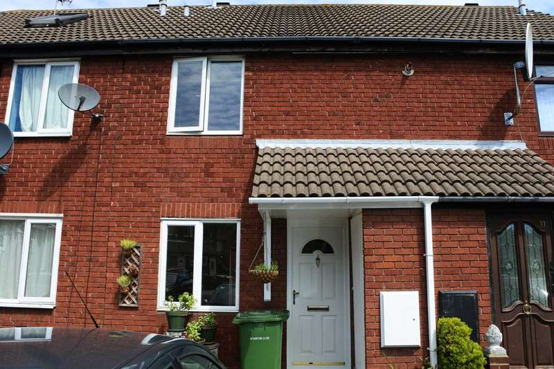 2 Bedrooms Terraced House for sale in Barton Close, Beckton,E6 5QE