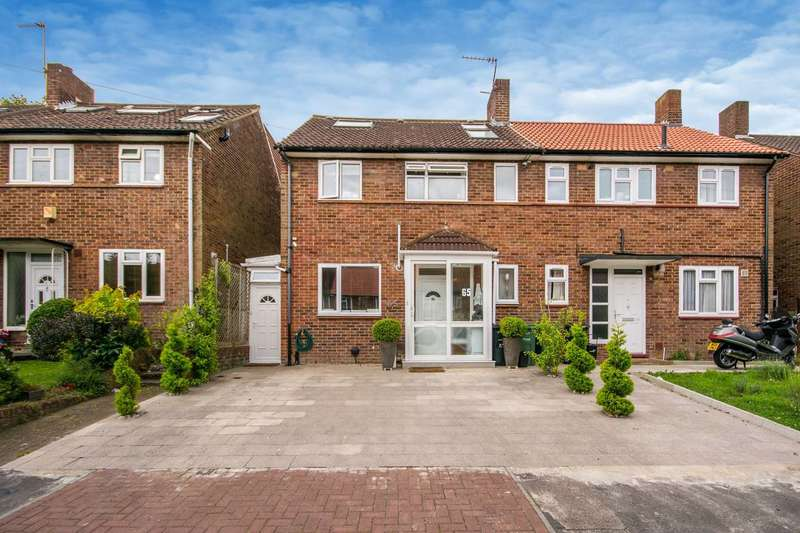 4 Bedrooms Semi Detached House for sale in Truslove Road, West Norwood, SE27