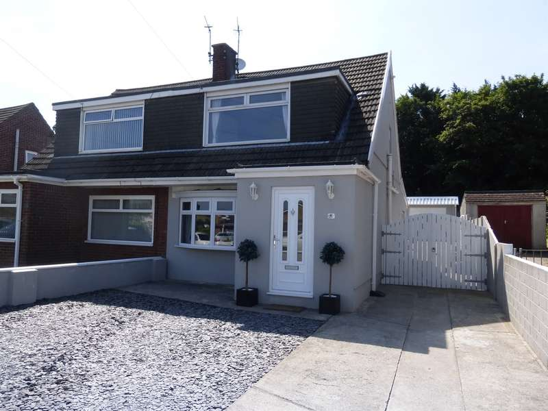 3 Bedrooms Semi Detached House for sale in Mountain View, North Cornelly, Bridgend