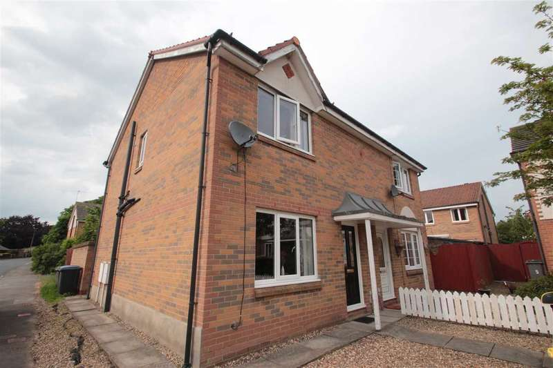 3 Bedrooms Semi Detached House for sale in Priestman Avenue, The Grove, Consett