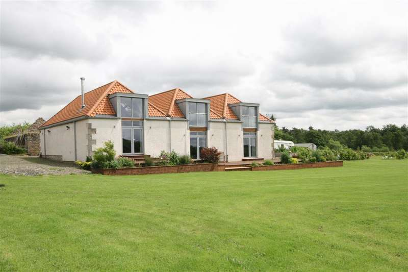 4 Bedrooms Detached House for sale in Half Moon Barn, Solsgirth, Dollar