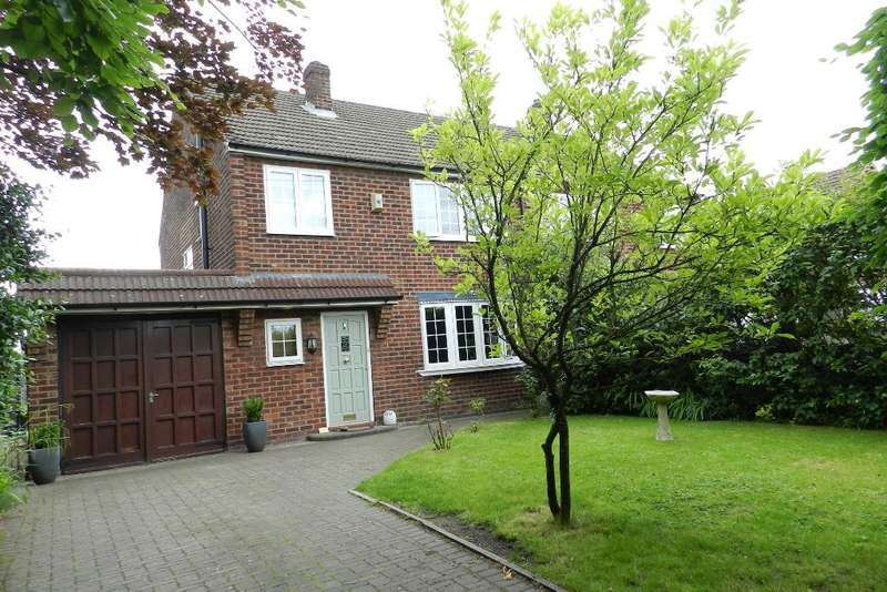 3 Bedrooms Semi Detached House for sale in Lodge Drive, Culcheth, Warrington, WA3 4ES