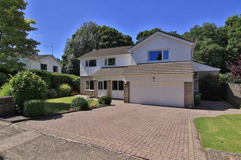 4 Bedrooms Detached House for sale in Millwood, Lisvane, Cardiff