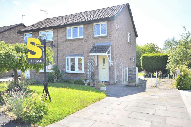 3 Bedrooms Semi Detached House for sale in CHUDLEIGH CLOSE, Bramhall