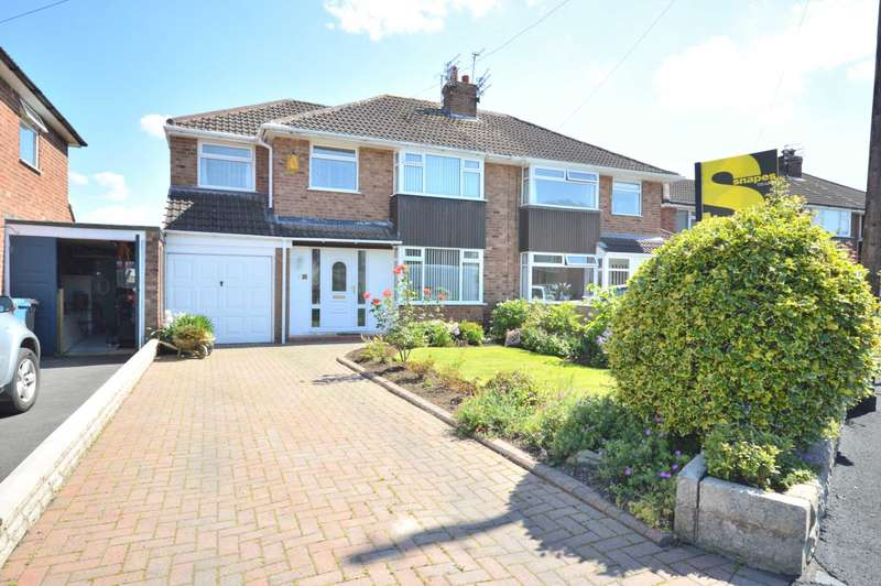 4 Bedrooms Semi Detached House for sale in ALBANY ROAD, Bramhall