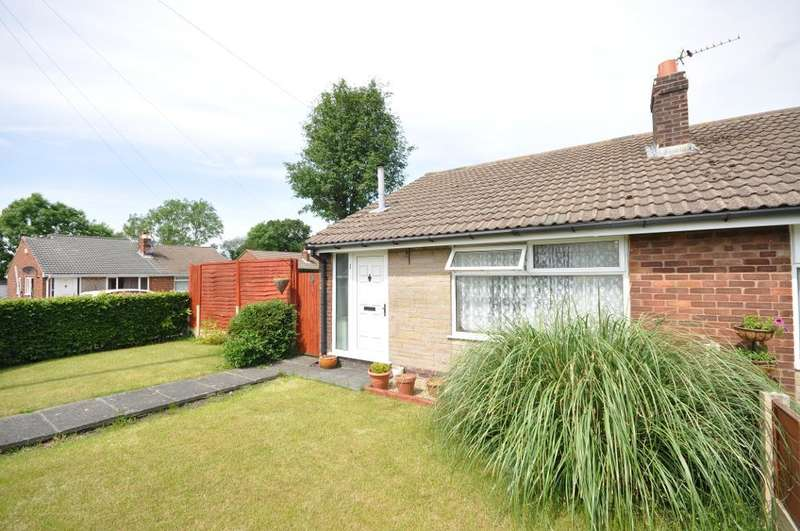 2 Bedrooms Semi Detached Bungalow for sale in Mintholme Avenue, Hoghton, Preston, Lancashire, PR5 0DY