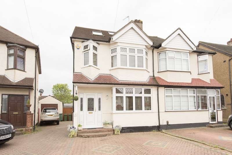 5 Bedrooms Semi Detached House for sale in Carlingford Road, Morden, Surrey, SM4