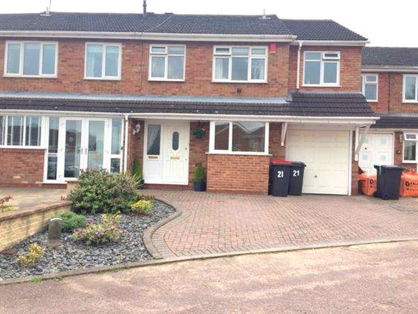 4 Bedrooms Semi Detached House for sale in Julius Drive, Coleshill