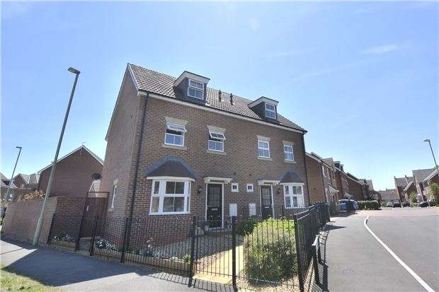 4 Bedrooms Semi Detached House for sale in Brize Avenue Kingsway, Quedgeley, GLOUCESTER, GL2 2EE